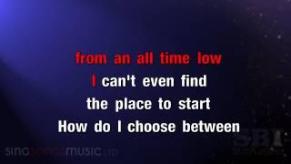 All Time Low - Karaoke HD (In The Style Of The Wanted)