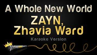 ZAYN, Zhavia Ward - A Whole New World (Karaoke Version)