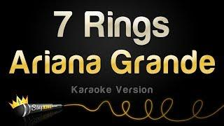 Ariana Grande - 7 Rings (Karaoke Version)