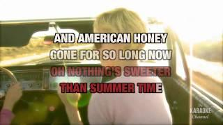 American Honey In The Style Of