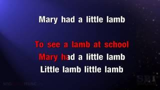 Mary Had A Little Lamb - Karaoke HD (In The Style Of Childrens Songs)