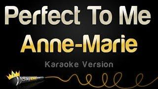 Anne-Marie - Perfect To Me (Karaoke Version)